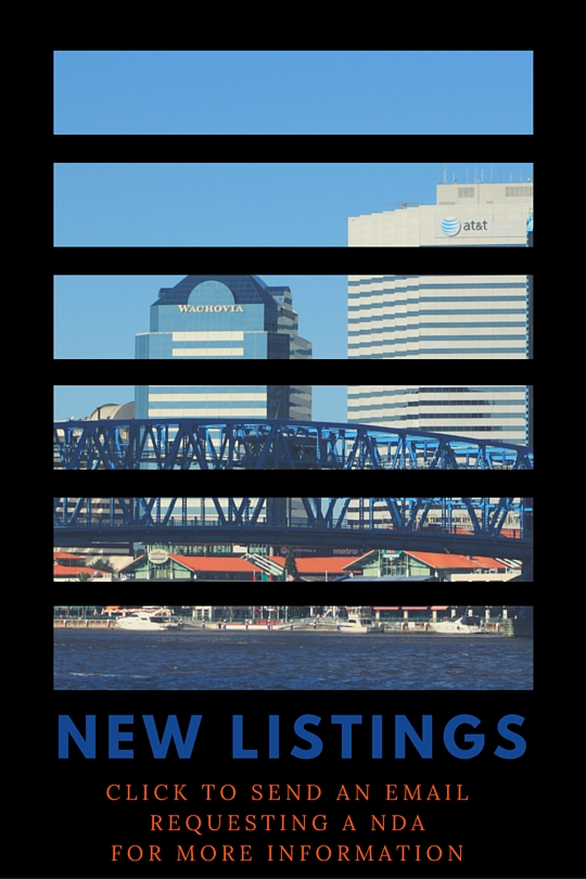 New Listings from Jacksonville Business Broker - John Geiwitz