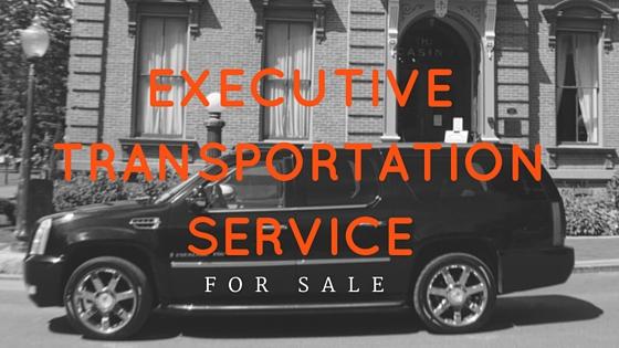 Executive Transportation Business For Sale