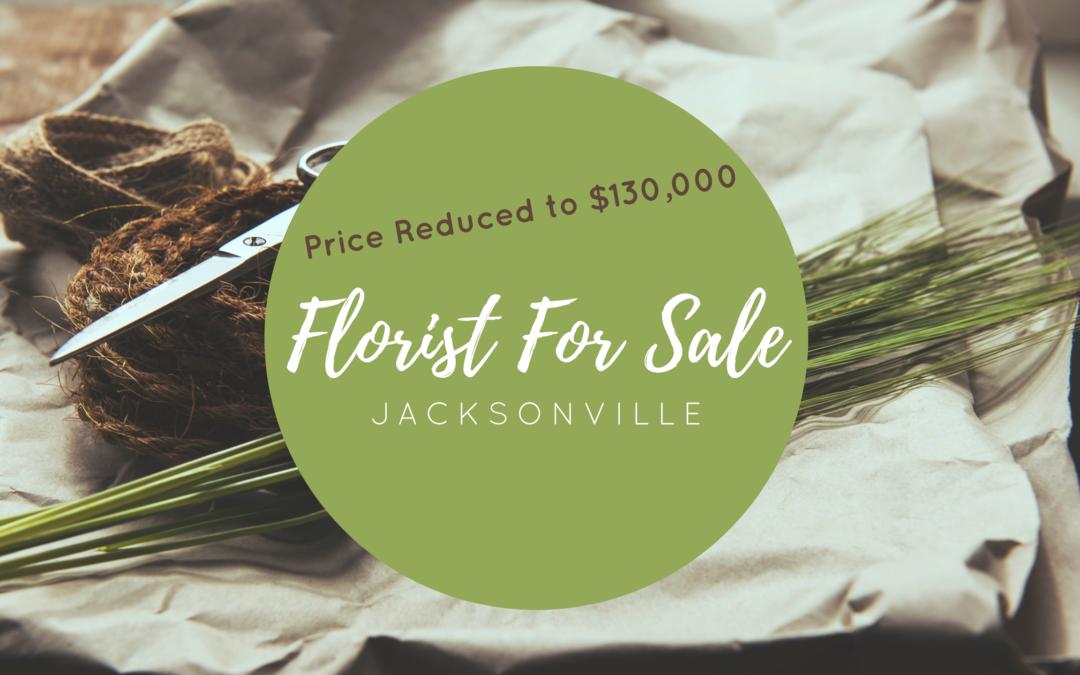 Jacksonville Florist For Sale