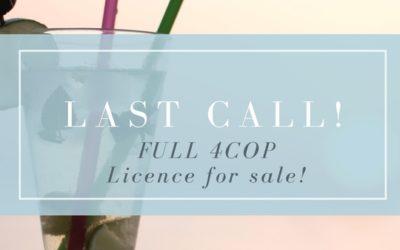 4COP Duval County Liquor License For Sale!