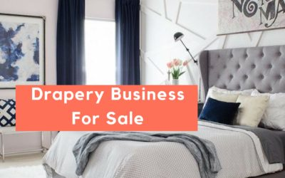 Jacksonville Drapery Workroom For Sale