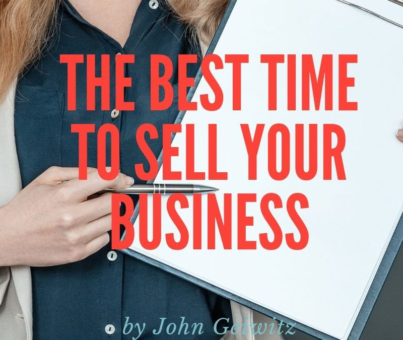 When is The Best Time to Sell Your Business?