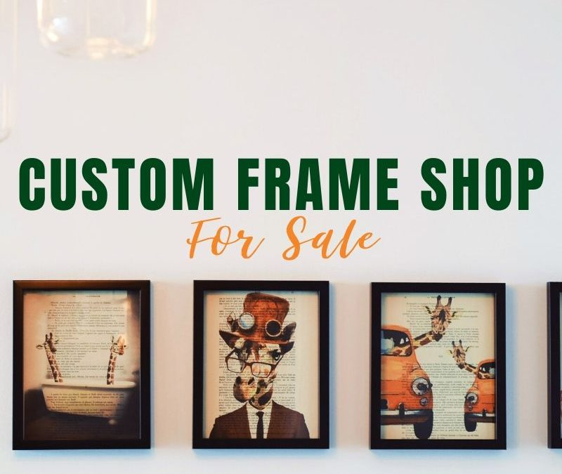Jacksonville Custom Frame Shop for Sale Exceeds Expectations!
