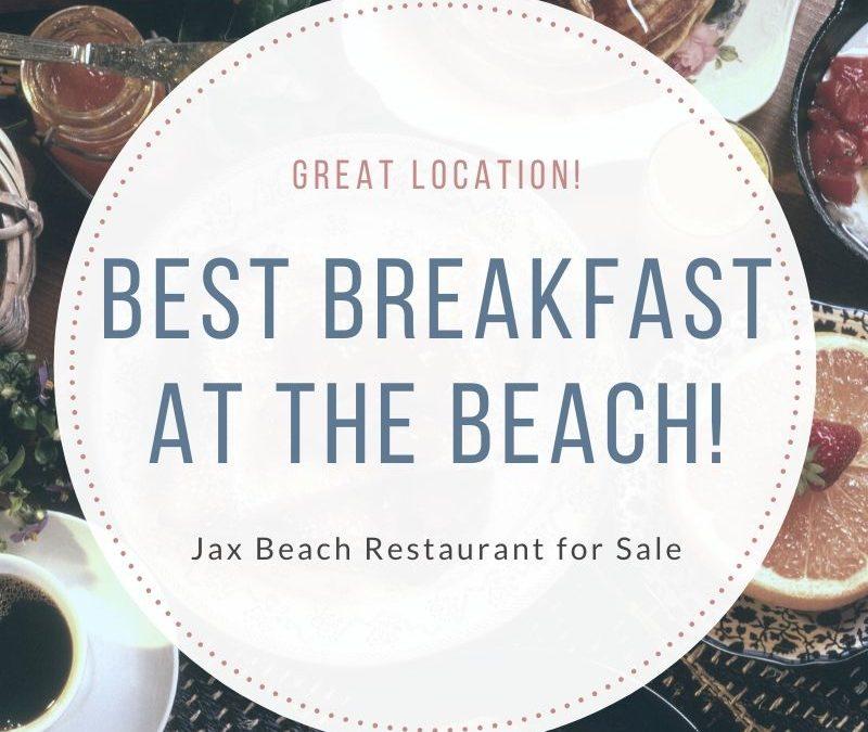 Best Breakfast At The Beach! Jax Beach Restaurant For Sale