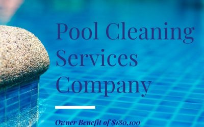 Orange Park Jacksonville Pool Cleaning Services Company for Sale