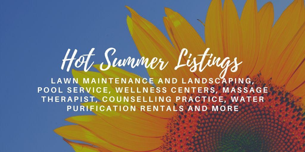 June 2020 – Hot Summer Listings