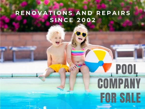 St Augustine Pool Renovation and Repair Company for Sale