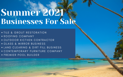 Summer 2021 Jacksonville Businesses For Sale